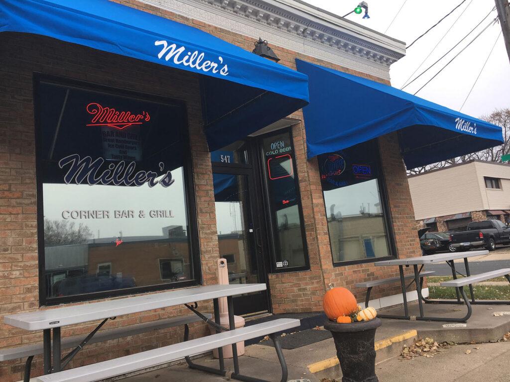Millers Corner Bar view