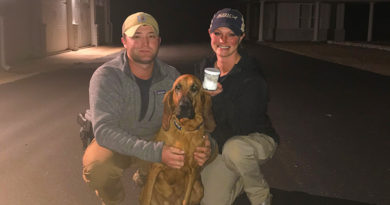 Missing 10 year old girl found with Trained K9 and Scent Collection Kit