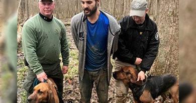HCSO Trained bloodhounds K9 Unit