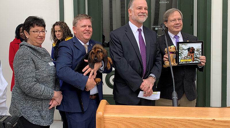 Prudom Introduces life-saving bloodhound