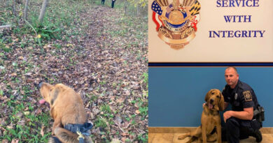 Bowie PD K9 Team Find Missing Suicidal Girl
