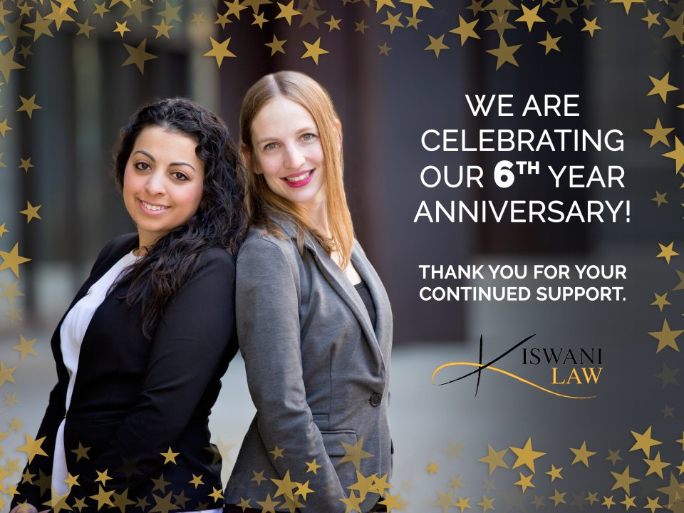 Celebrating 6 years of Family Law & Litigation Services to Our Clients