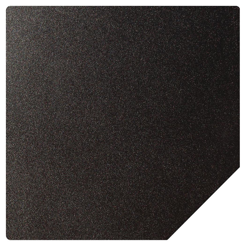 Ember King textured black standard hearth pad