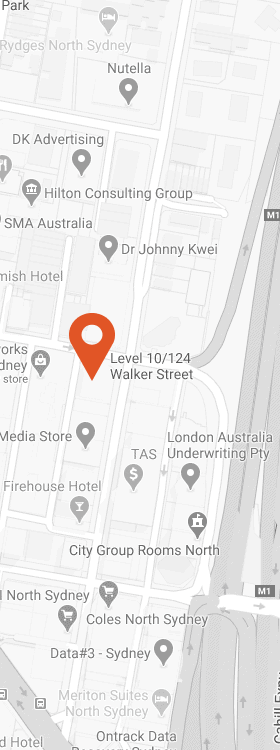 SCI Sydney Office (click for map)