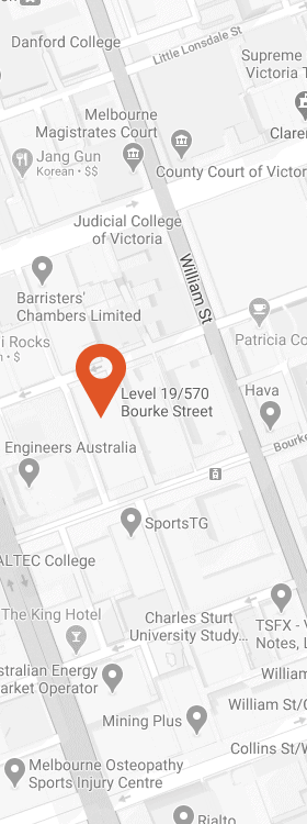SCI Melbourne Office (click for map)