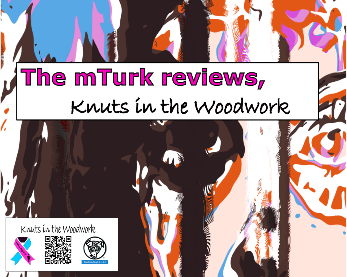 mTurk Reviews of Knuts in the Woodwork Kindle Book