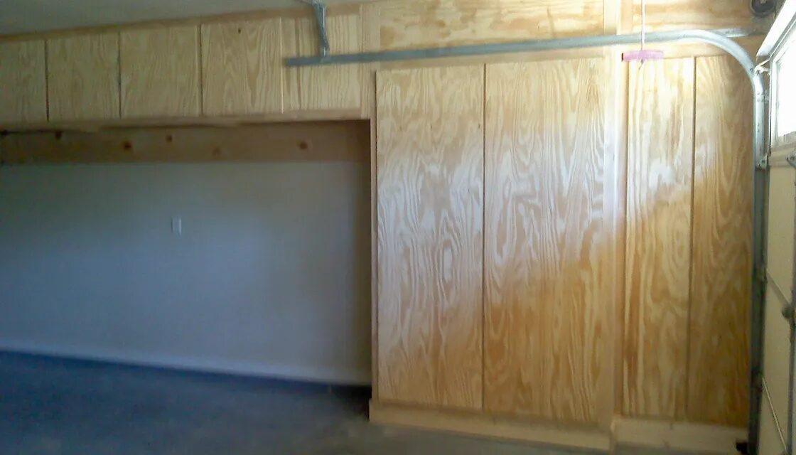 Custom Custom Garage Pine Cabinets, Allen Rustic Wood Designs