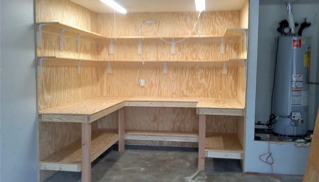 Custom Pine Workstation For Ammunition Reloading, Mesquite, TX. Allen Rustic Wood Designs