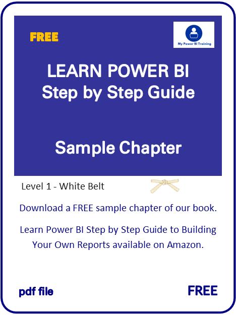 Learn Power BI Book Sample Chapter