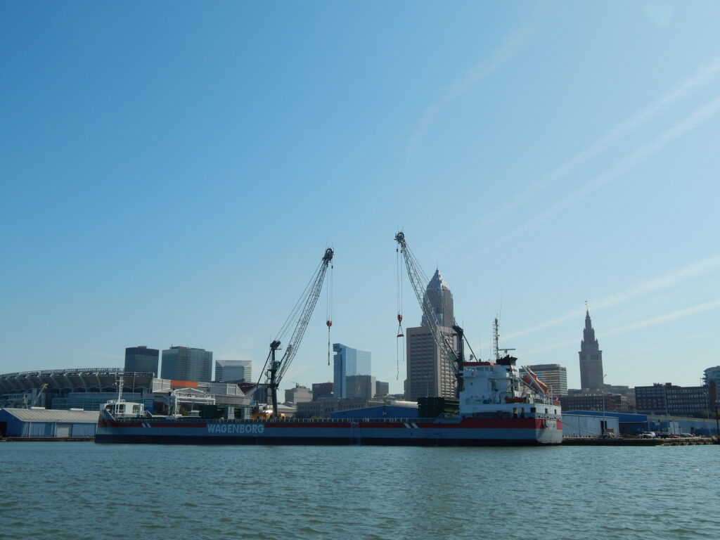 Port of Cleveland, photo by Chris Urban
