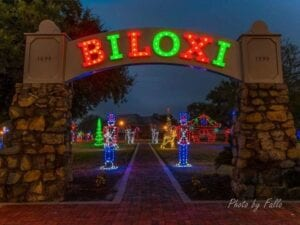 Biloxi arch