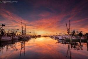 yacht dock photography