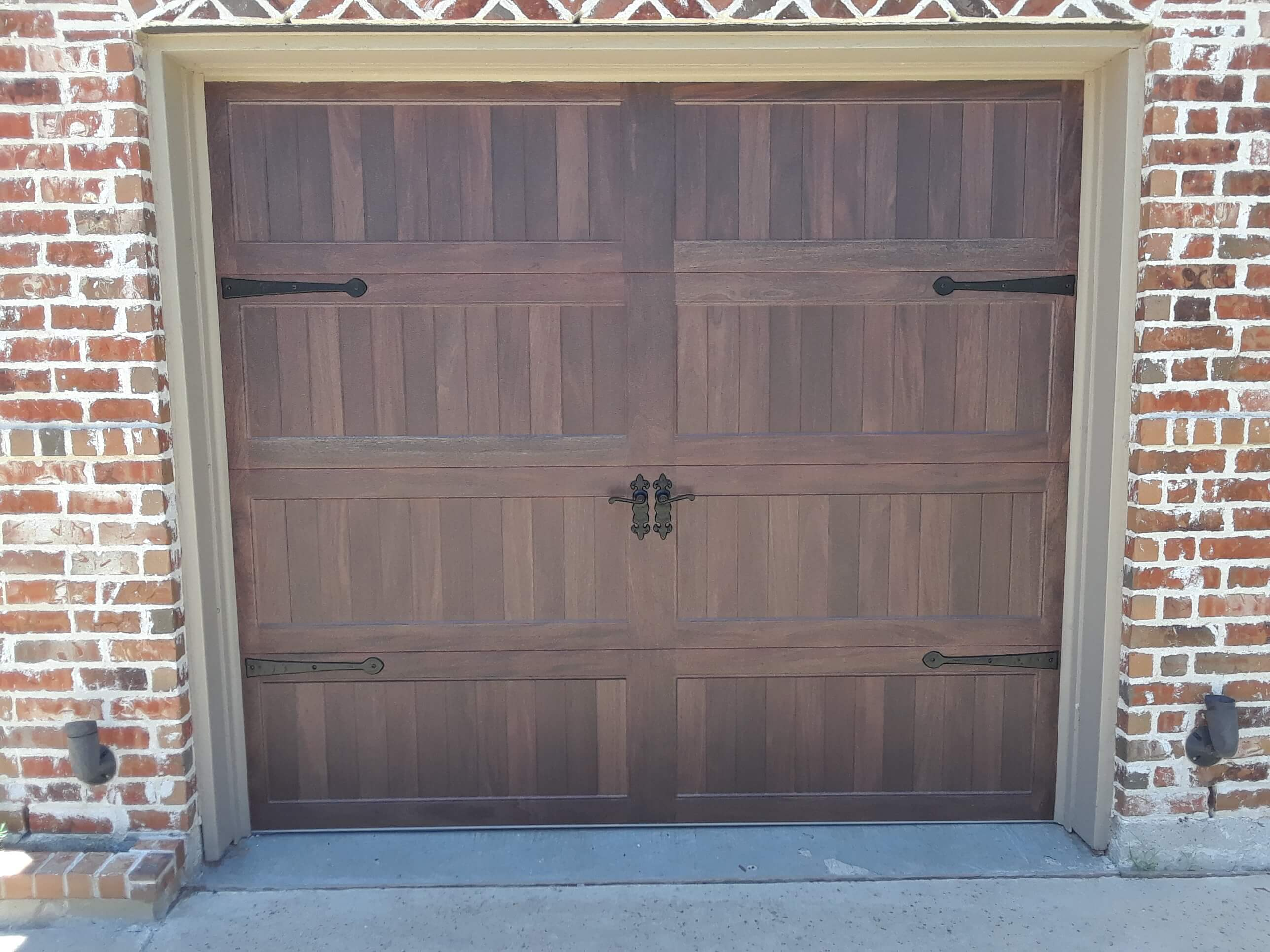 CHI 5493 Mahogany Accents with Wrought Iron Hardware