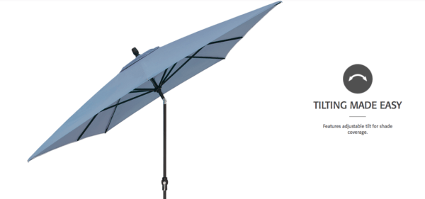 8 x 10 Market Umbrella 2
