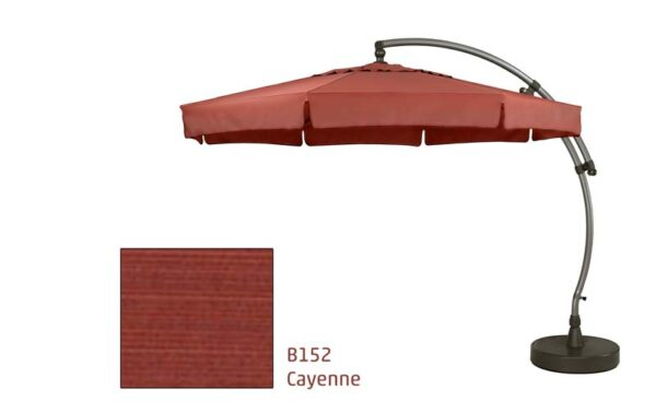 8115OM04B152 11.5 Octagon Bronze Cayenne