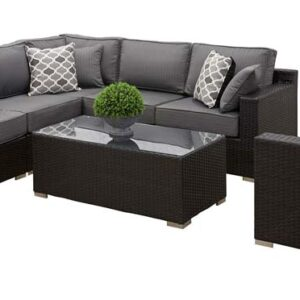 California Sectional Gray with Club