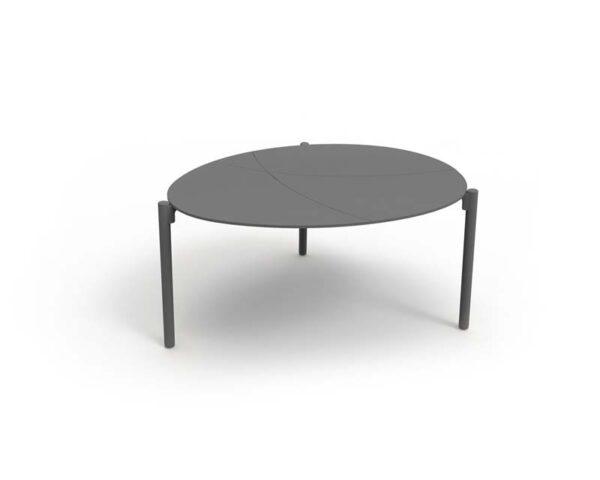 Cobblestone coffee table M Charcoal 1