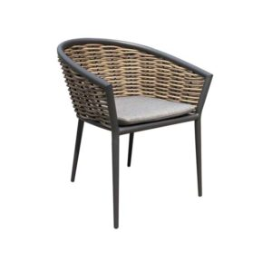 Muses Dining Chair Reed Wicker 2