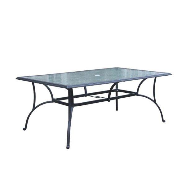 Springfield 42x72 Rectangular Glass Table 1