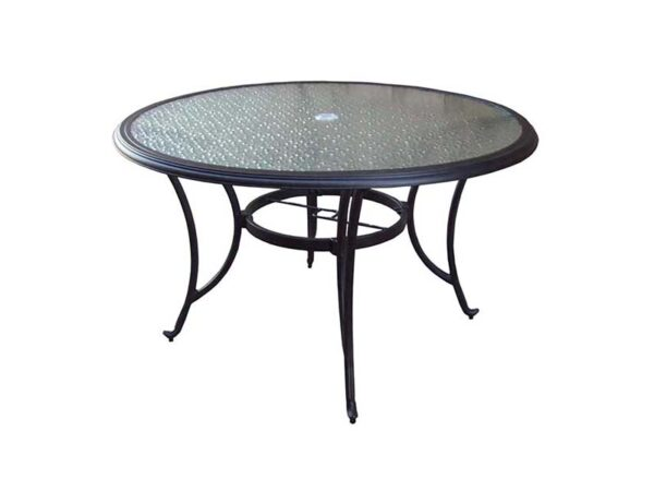 Springfield 48 Round Glass Table 1