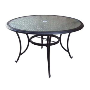 Springfield 48 Round Glass Table