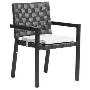Tatta arm chair BLACK 50x3mm 1