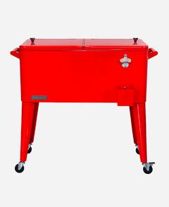 80 Quart Cooler Red