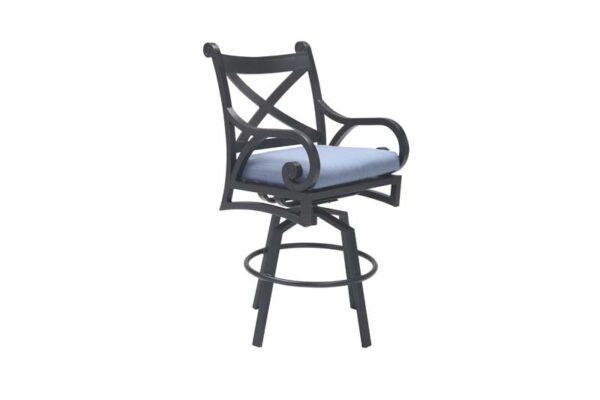 Athens Swivel Bar Chair with Cushion