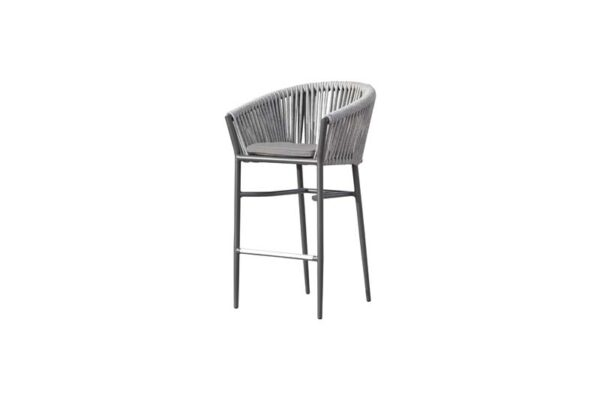 Muses Collection - Rope Weave Bar Chair