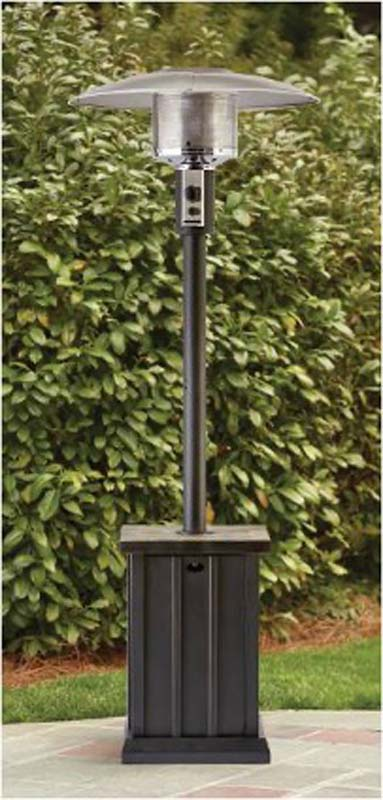 Patio Heater with Tile Top 1