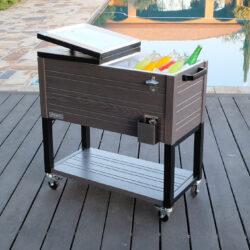 permasteel rustic furniture style cooler