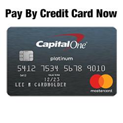Credit Card (Call AACIS at 850 898-0011)