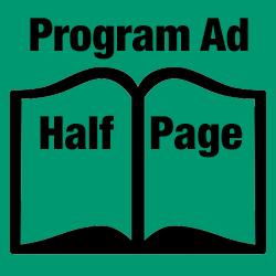 Program Ad - Half Page ($175)