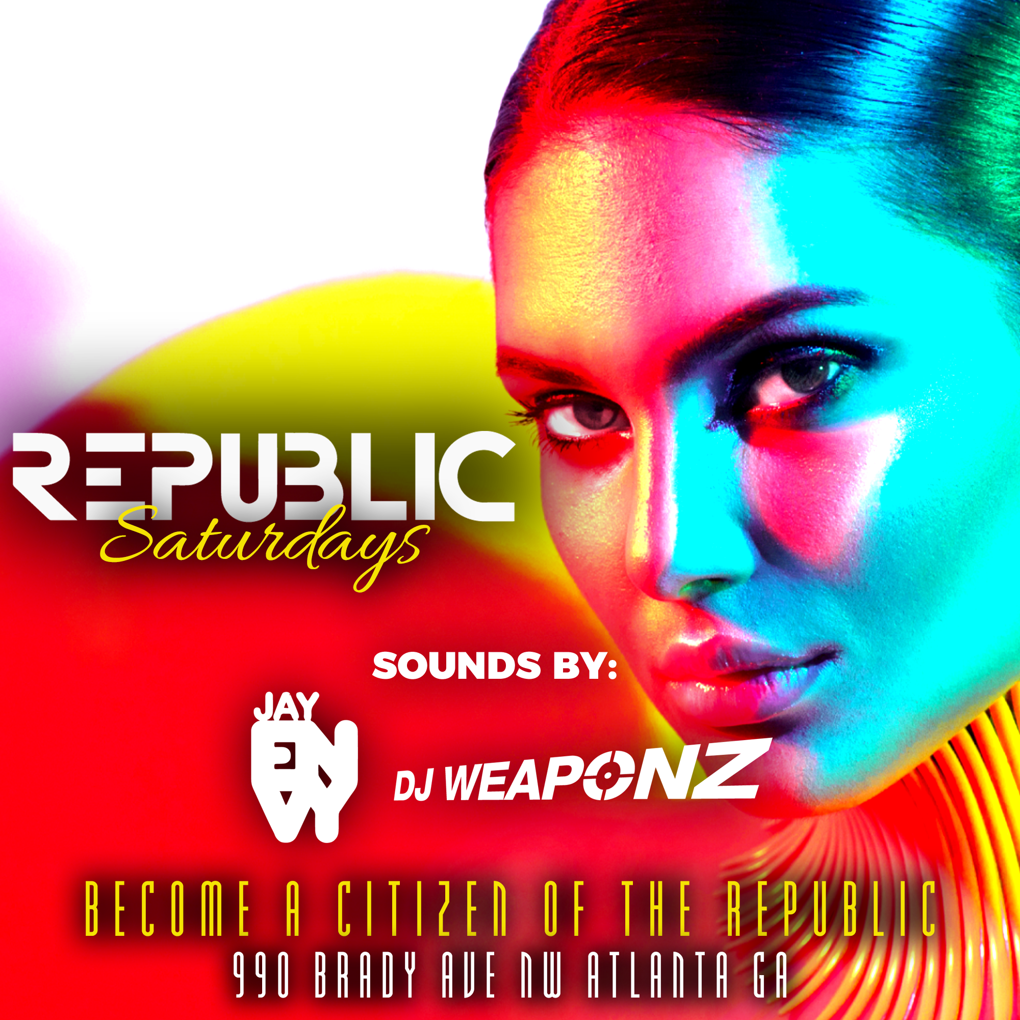Sexy Saturdays @ Republic Lounge 4.13