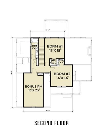 Farmhouse 817 2nd Floor Plans