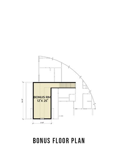 Northwest 607 Bonus Floor Plan