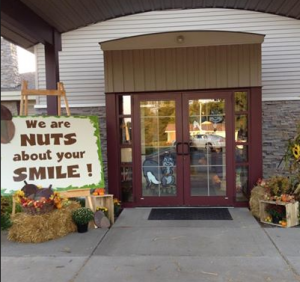 Dental Arts - fall decorating 2012