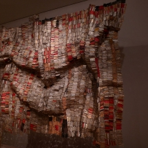 "El Anatsui artwork, ""Man's Cloth."" Image by Hahnchen, Wikimedia Commons."