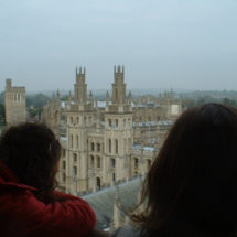 A view from atop a church in Oxford, England, taken during a 2005-2006 Reuters Foundation fellowship at Oxford University.
