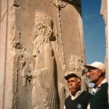 at-persepolis-docents-standing
