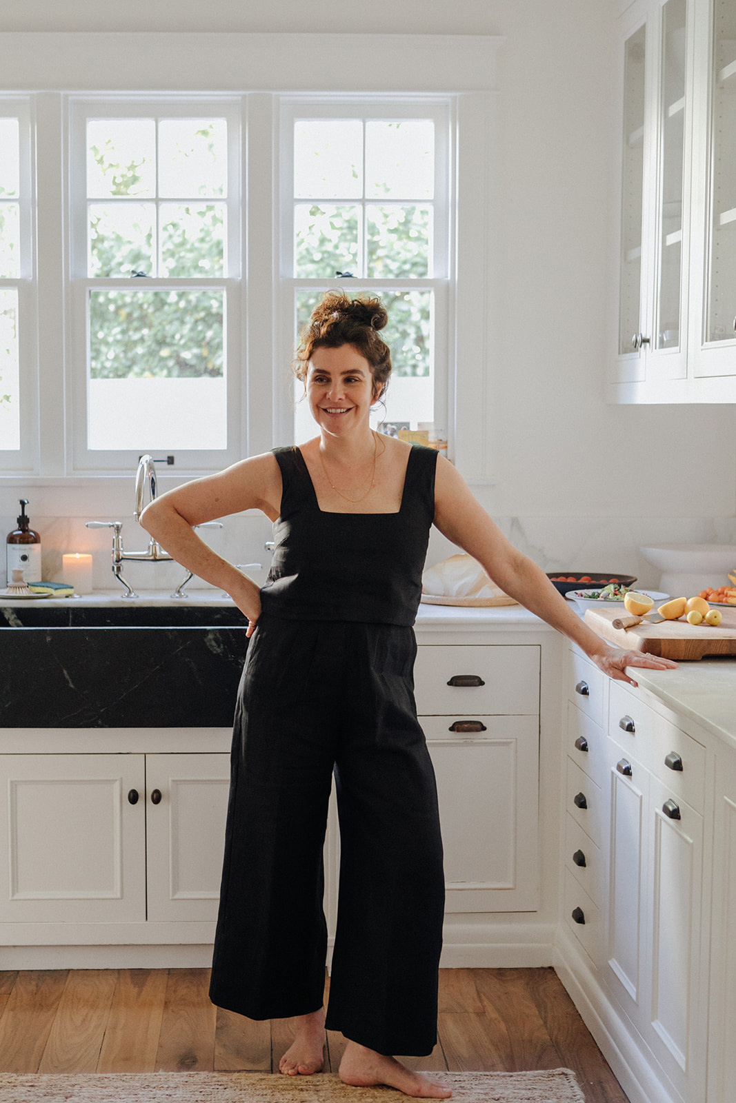 leanne citrone standing in her kitchen