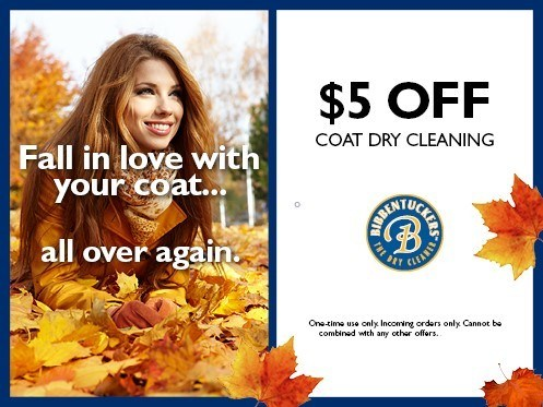 bibbentuckers coupons fall18 4 - Dry Cleaning Specials