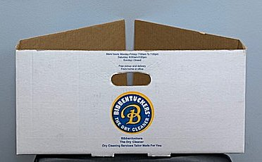 bibbentuckers hanger collection box - Going Green for 2019