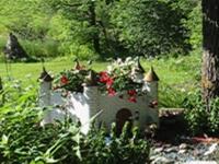 Garden castle