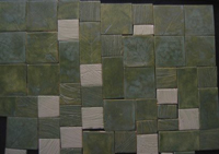 Homemade tiles