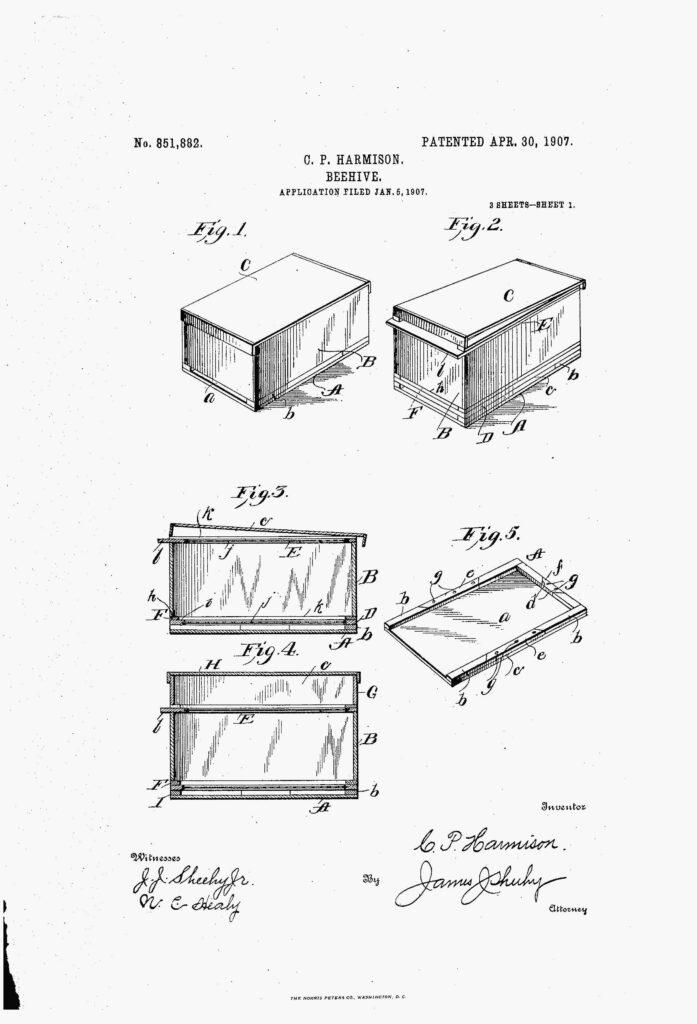 Beehive Patent
