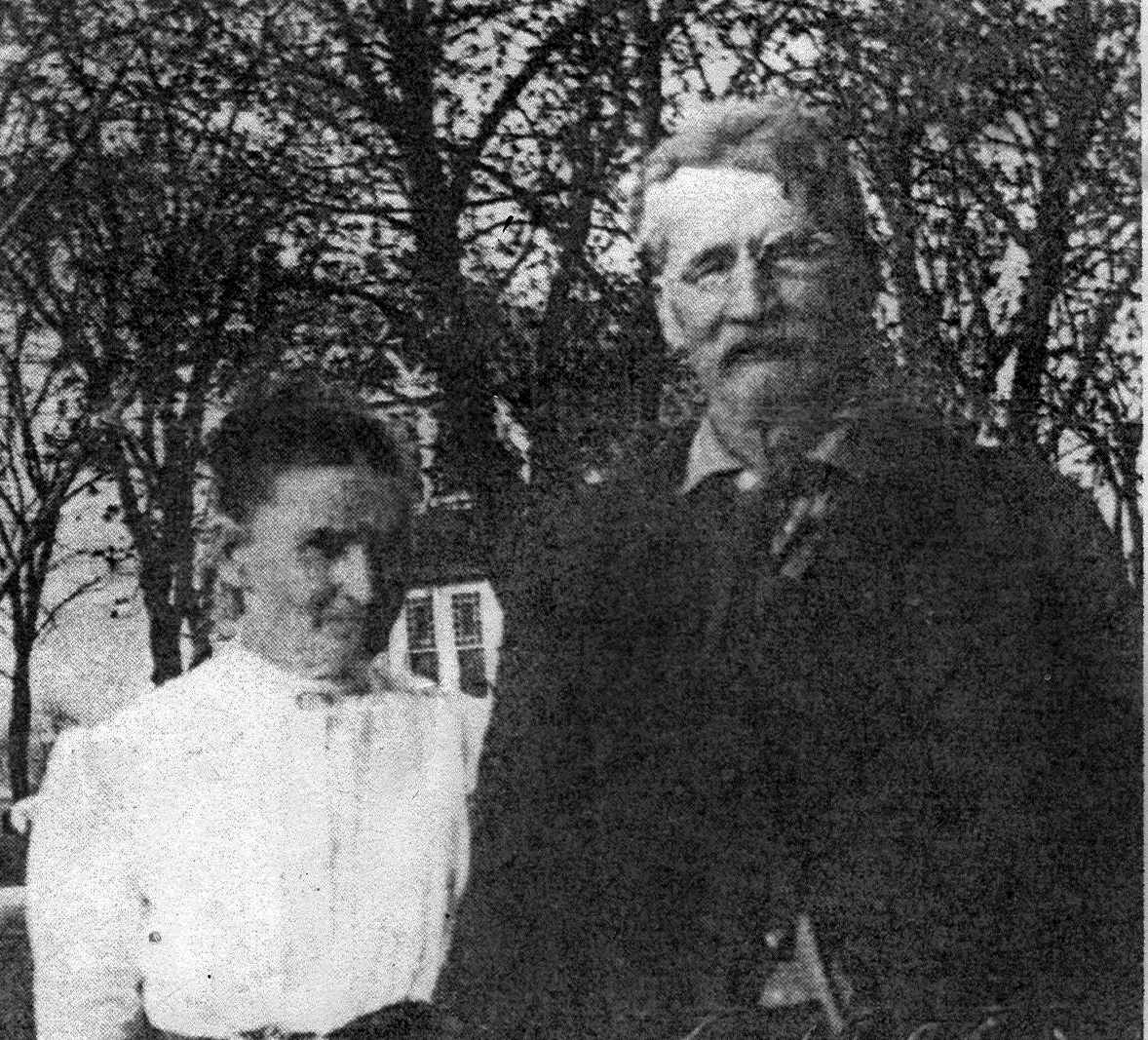 Anna Layng and William Faulkner
