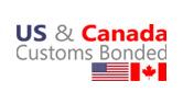 US & Canada Customs Bonded