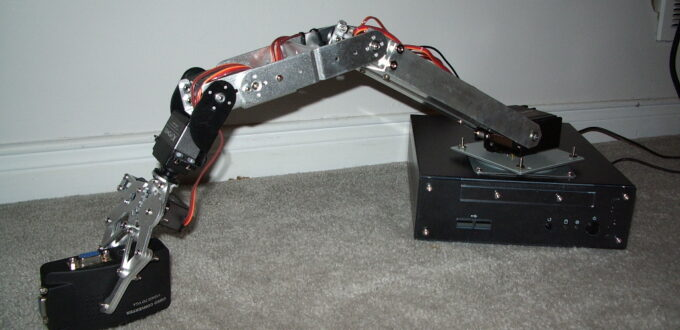 Robot arm and hand 3-94c39f21