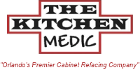 The Kitchen Medic: Cabinet refacing satisfies your desire for a stylish appearance, lasting quality, and money-saving value.
